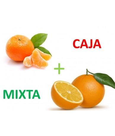 FD14 - 5 Kg. Naranja Navelina Natural con Hoja Mesa + 5 Kg. Clementina Natural con Hoja